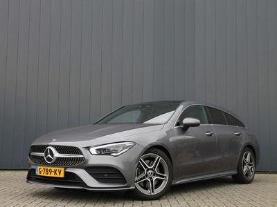tweedehands Mercedes 200 CLA-KLASSE Shooting BrakePremium Plus AUT. / AMG / NAVI / LEDER / PANORAMADAK / CAMERA