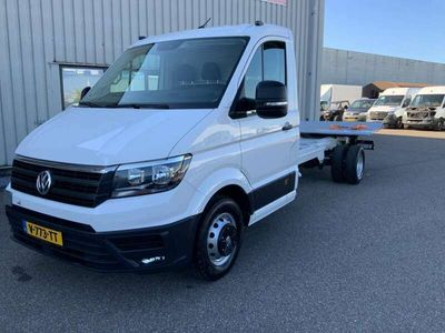 tweedehands VW Crafter 50 2.0 TDI L4H3 DL Chassi & Laadklep,Airco Cruise,