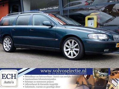 tweedehands Volvo V70 T5 250pk, Comfort Line, Leer, Elektr. stoel, 17 in