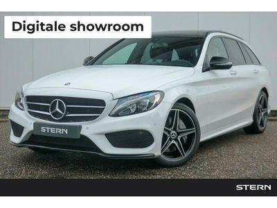 tweedehands Mercedes C300 C-klasseAutomaat Estate AMG Line | Ambition Pakket | Nightpak