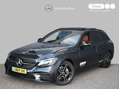 tweedehands Mercedes 200 C-Klasse EstateBusiness Solution AMG | Nighpakket | Panoramadak | Achteruitrijcamera | Stoelverwarming