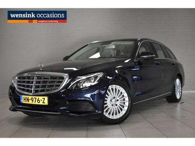 tweedehands Mercedes C350 Estate e Lease Edition | stoelverwarming | Navigat