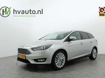 tweedehands Ford Focus Wagon 1.0 125PK TITANIUM | Navi | Trekhaak | 17 in