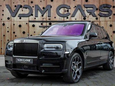 tweedehands Rolls Royce Cullinan 6.75 V12   Black Badge   Shooting Star   Dark Exte
