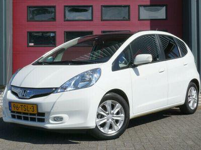 tweedehands Honda Jazz 1.4 Hybrid Elegance Cruise Control, Airco, Panoram