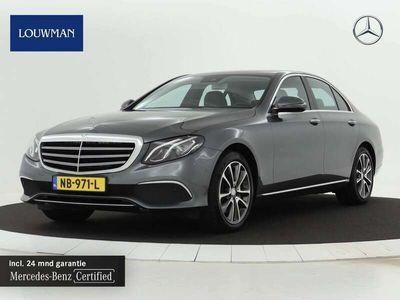 tweedehands Mercedes E350 e Luxury   Airmatic   Widescreen   Keyless-Go   Inclusief 24 MB Premium Certified garantie voor Europa.
