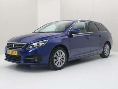 tweedehands Peugeot 308 SW SW 1.2 PureTech 130pk Blue Lease Premium [ TREKHAAK+PANOD