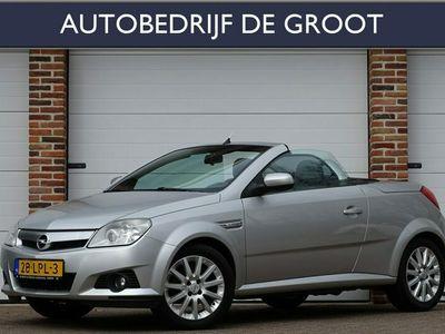 tweedehands Opel Tigra TwinTop 1.4-16V Enjoy Automaat Leer, Airco, Stoelverwarm, LM-Velgen