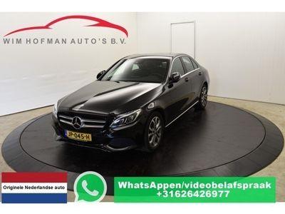 tweedehands Mercedes C350e Benzine-Hybrid Edition Sport interieur .