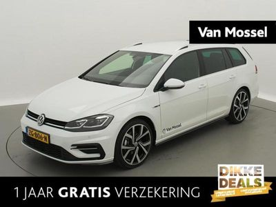 tweedehands VW Golf VII 1.5 TSI 150pk 7-DSG Highline Business R | 19 inch GTI | Demo
