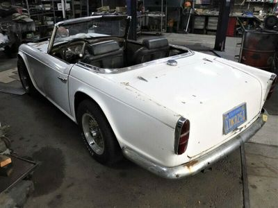 tweedehands Triumph TR4 -White 34884