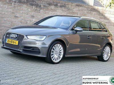 tweedehands Audi A3 Sportback 1.4 e-tron PHEV Ambition Pro S-Line plus panorama/leer/led/nav/lmv18