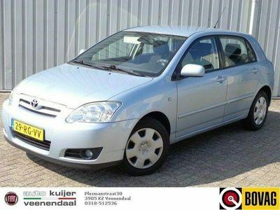 tweedehands Toyota Corolla 1.6 VVT-i Linea Sol 5 drs. AUTOMAAT I airco I trekhaak I