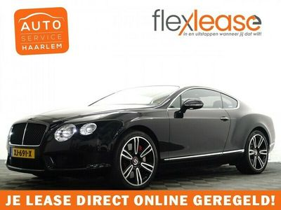 tweedehands Bentley Continental GT 4.0 V8 508pk Aut- Vol Leer, Camera, Led Xenon,