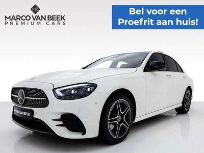 tweedehands Mercedes E200 Premium Plus AMG Nw. Prijs € 84.867 Pano Burmester Memory Night Geïnteresseerd?