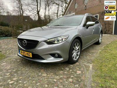 tweedehands Mazda 6 Sportbreak 2.2D Skylease+-navi-led-trekhaak-pdc-st