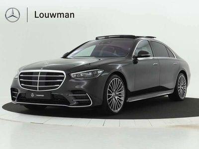 tweedehands Mercedes S400 400d 4Matic Lang AMG Line | Premium Plus pakket| M