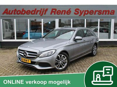 tweedehands Mercedes C350 Estate e Lease Edition Stoelverw/Sportstoelen/Led/