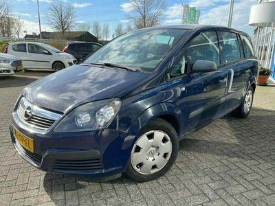 tweedehands Opel Zafira 1.6 Business, 7 persoons, Trekhaak, NWE APK, Meeneemprijs