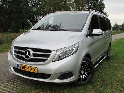 tweedehands Mercedes V220 V 220/ Avantgarde / LED / LEDER / DUBBEL CABINE /