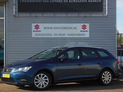 tweedehands Seat Leon ST 1.4 TSI STYLE Cruise control | Climate control | Lm velgen Staat in Hoogeveen