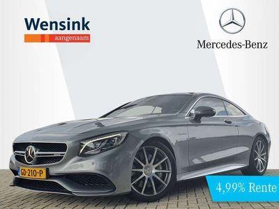 tweedehands Mercedes S63 AMG AMG Coupé 4Matic | Burmester | 20 Inch | Panoramadak |