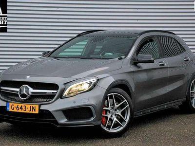 tweedehands Mercedes GLA45 AMG AMG 4Matic Edition 1/pano/memory seats/weinig km/deale