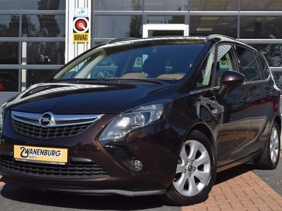 tweedehands Opel Zafira Tourer 1.4 Cosmo 7p. Navi Camera Leder Km 77000!!