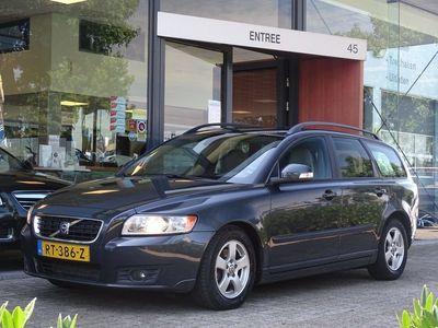 tweedehands Volvo V50 1.6D S/S Edition II / lederen bekleding / navigatie