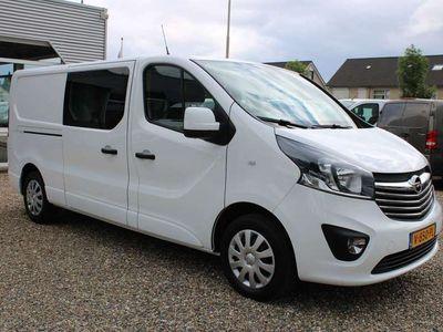 tweedehands Opel Vivaro 1.6 CDTI 120PK L2H1 Dubbel Cabine Airco Sport