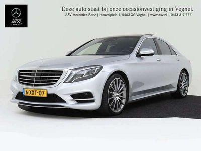 tweedehands Mercedes S500 4Matic Prestige S 500 4-Matic, AMG LIne, Exclusiefpakket, Memorypakket, Prestige Pakket Rijassistentiepakket, Burmester, Panoramadak