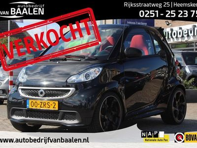 tweedehands Smart ForTwo Cabrio 1.0 MHD PASSION LORINSER AIRCO NAVI CRUISE ORG NL 45000KM!!