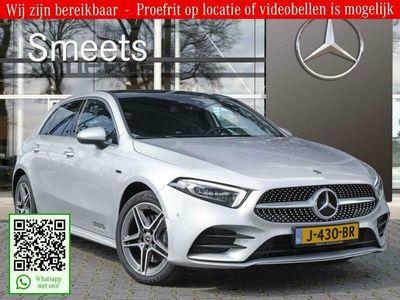 tweedehands Mercedes A250 e Plug in Hybride Automaat | AMG-Line | Panoramadak | Sf