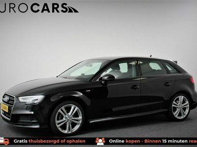 tweedehands Audi A3 Sportback 35 TFSI 150pk CoD Sport S-Line S-Tronic   Navigatie   Climate Control   Lichtmatelen Velgen   Parkeer Sensoren   Bluetooth   5 deurs