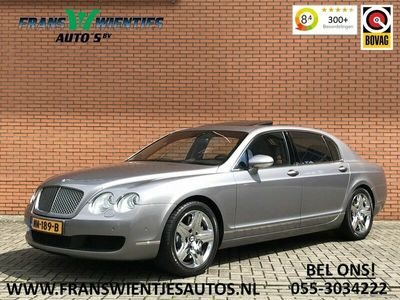 tweedehands Bentley Continental Flying Spur 6.0 W12 | 561 PK! | Luchtvering | Softclose | Keyless Entry | Massage Stoelen | Leer | Xenon |