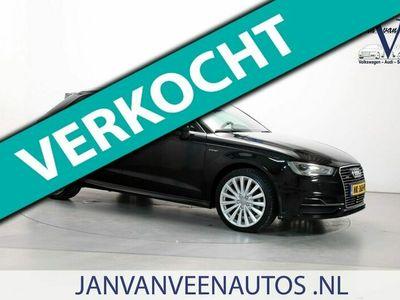 tweedehands Audi A3 Sportback € 16.200,- incl btw. 1.4 E-tron PHEV Ambition Pro Line plus S-Line Leder-Stof Navigatie Parkeersensoren