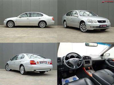 tweedehands Lexus GS300 * LEER * LPG-G3 * YOUNGTIMER !!