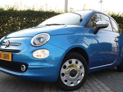 """tweedehands Fiat 500C Azurro Mirror Uconnect! """"Tutto Perfetto"""" M2018"""