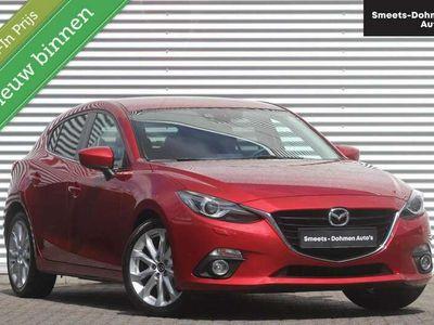 tweedehands Mazda 3 2.0 GT-M | Leer | Navi | Xenon | HUD | Climate | Z
