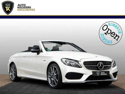 tweedehands Mercedes C43 AMG AMG Cabriolet 4MATIC Stoelvent. Adapt. cruise HUD Burm
