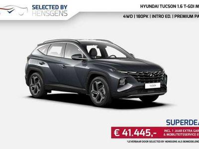 tweedehands Hyundai Tucson 1.6 T-MHEV MJ 21 | 4WD 180 PS | Intro ed + Premium