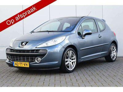 tweedehands Peugeot 207 CC 1.6-16V T Féline Pano/dak E Cruise Deels/leer