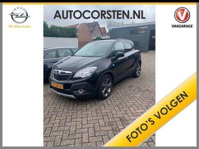 """tweedehands Opel Mokka 1.4 T Cosmo Navi Camera TrHaak EccPdc-A+voor Agr Sportst 18""""lm Pr.Glass ChroomPack Regen+LichtSensor EsP BlueTooth 1e eigenaar door ons geleverd+onderhouden B-label EURO5"""