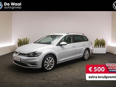 tweedehands VW Golf Variant 1.5 TSI 150pk DSG Highline | Navigatie, Cruise Control Adaptief, Parkeersensoren V+A |