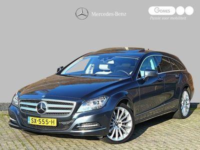 tweedehands Mercedes 350 CLS-KLASSE Shooting Brake| Comand Online | Schuifdak | Memory pakket | Nachtzicht cam | Distronic+ | ONLINE PAASSHOW !! Korting € 2.000,- of EXTRA inruilwaarde € 2.000,- ONLINE PAASSHOW !! Korting € 2.000,- of EXTRA inruilwaarde € 2.000,-