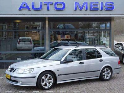 tweedehands Saab 9-5 Estate Turbo Aero Automaat Leder NL-Auto NAP