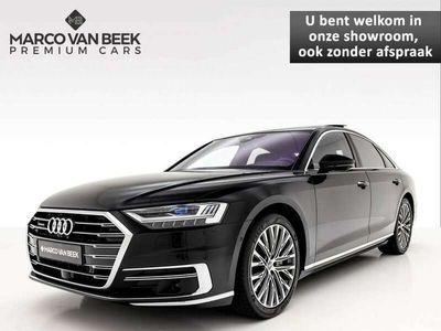 tweedehands Audi A8 55 TFSI quattro Pro Line Plus Nw. Prijs € 181.365 Pano B&O Advanced Memory Massage VOL! Geïnteresseerd?