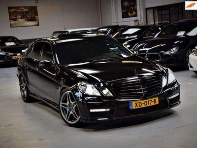 tweedehands Mercedes E63 AMG 6.3 V8 * * *Black* Navi Leder 525pk!! Complete His