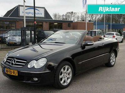 tweedehands Mercedes CLK280 Avantgarde LEDER/PDC/NAVI KEURIGE STAAT