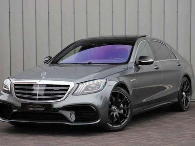 tweedehands Mercedes S63 AMG AMG 4-Matic+ Lang Premium Plus Head-up Keyles-go Panor